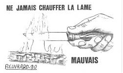 chauffer-couteau